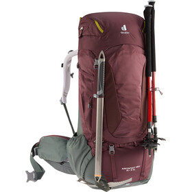 deuter Aircontact PRO 65 + 15 SL Backpack aubergine/ivy